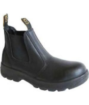 Cougar 'Black Rambler' Safety Boot with Safety Toe Cap