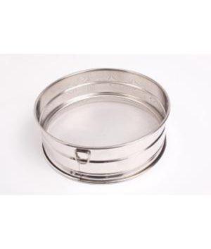 Fine Mesh Drum Sieve- Stainless steel with rim 40cm
