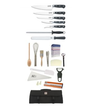 21 Piece Chef Starter Kit- Club Chef Classic Forged