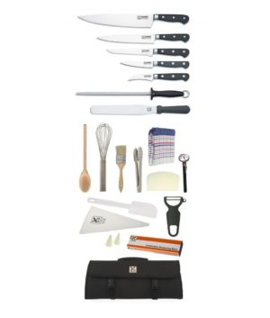 21 Piece Chef Starter Kit- Club Chef Classic Forged with 25cm Cooks