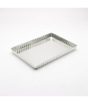 Tart Tin - 12x6cm - Loose Base - Rectangular