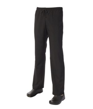 5 for the price of 4: Black Drawstring Trouser by Club Chef