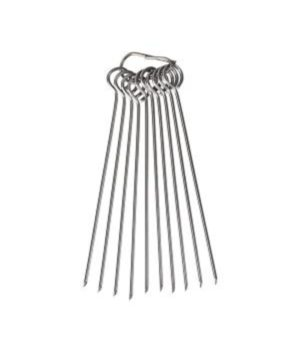 Skewers Meat Roll - Stainless Steel -set of 10