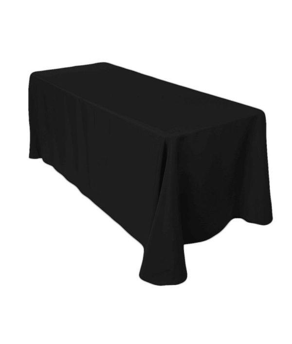 Tablecloth - Black 137x275cm