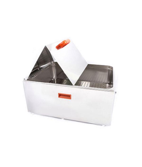 Bi-fold lid for use with item #103787 56 Litre Unstirred Bath - side control version
