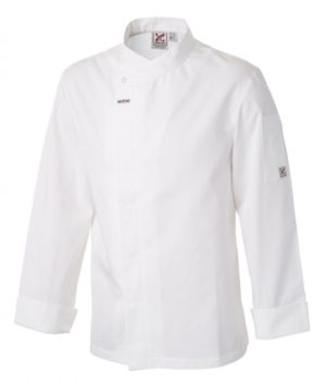 5 For The Price Of 4: Food Preparation Chef Jacket White L/S by Club Chef