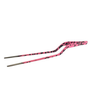 Culinary/Food Tweezers Offset 20cm in Camo Pink by Club Chef