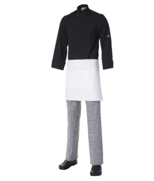 Short Apron with Pocket Heavyweight Cotton