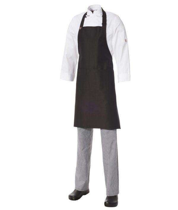 Bib Apron Heavyweight Cotton with Pocket by Club Chef Aprons 3