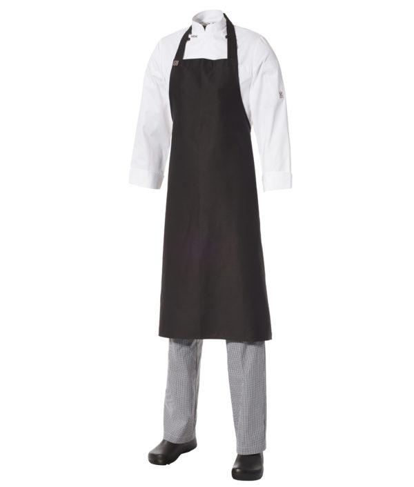 Bib Apron Heavyweight Cotton- Large by Club Chef