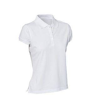 Ladies Polo Shirt - Black by Club Chef