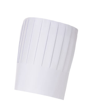 Disposable Paper Classic Top Chef Hat 23cm