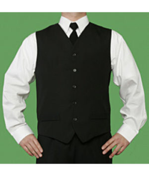 Men's Waitering Vest by Barbara Chalmers Designs