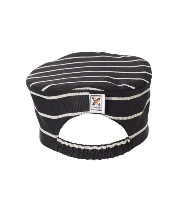 Flat Top Hat Pinstripe by Club Chef Butcher & Baker Uniforms 2