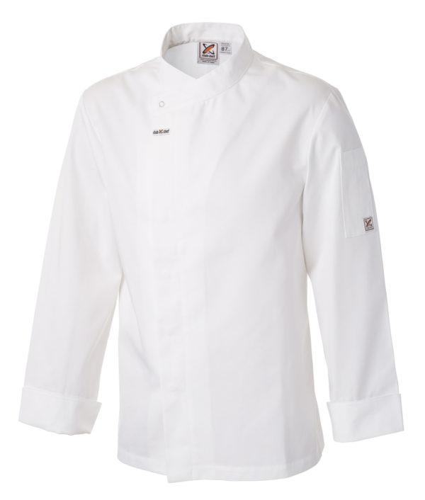 Food Preparation Chef Jacket White by Club Chef