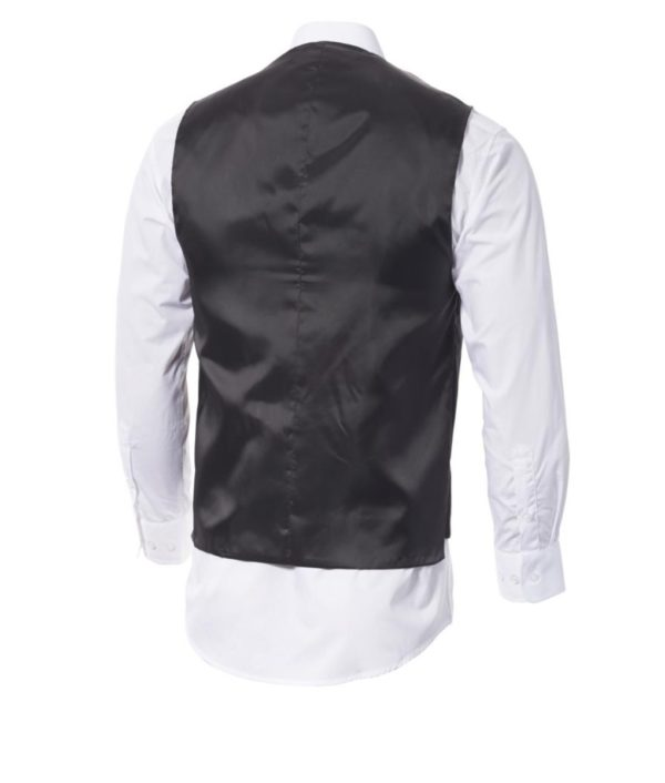 Mens Executive Vest with Satin Back Barware, Wine & FOH 2