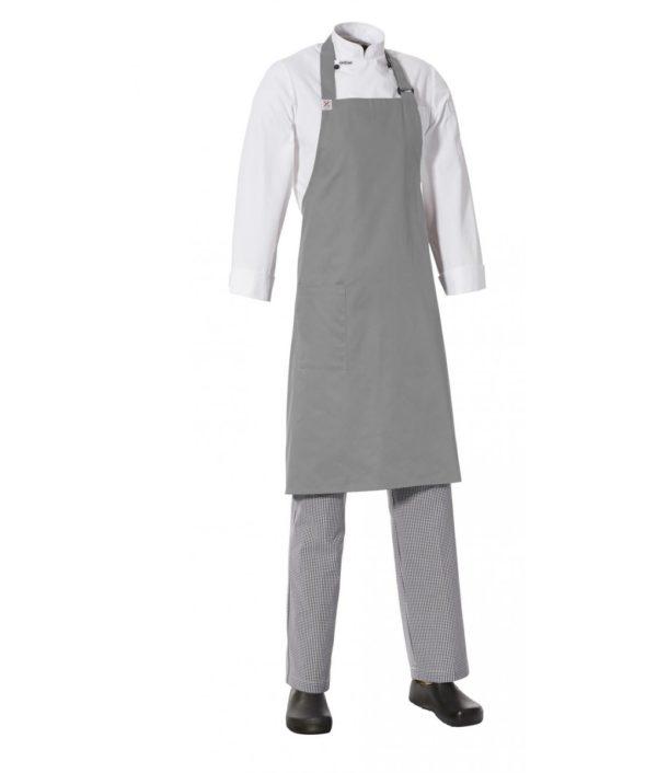 Side Pocket Apron – Grey Colour