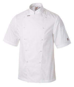 Metal Chef Jacket Short Sleeves by Club Chef