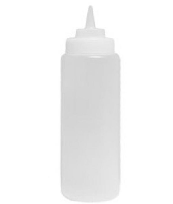 Plastic Squeeze Bottle - 472ml Clear