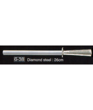 Global Diamond Sharpening Steel 26cm