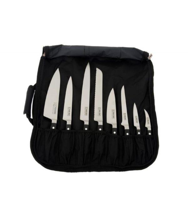 Club Chef Knife Carry Wrap 8 Piece Cases & Storage 2