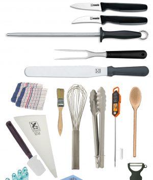21 Piece Chef Starter Kit – Premium by Club Chef Apprentice