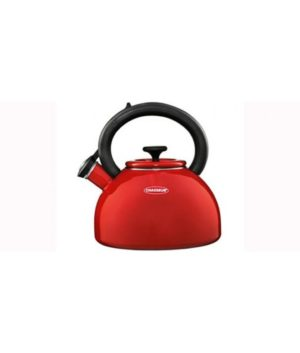 Enamelled Whistling Kettle 2.5L by Chasseur