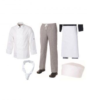 Club Chef Student Uniform Kit Chef Uniforms