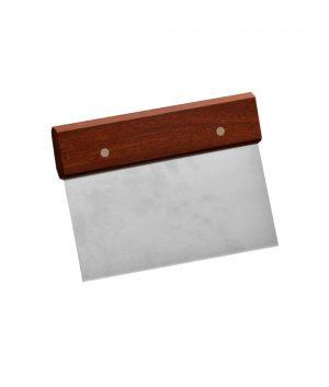 Scraper Dough Wood Handle – 15cm Scrapers