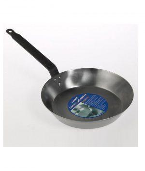Black Iron Frypan 25cm Cookware