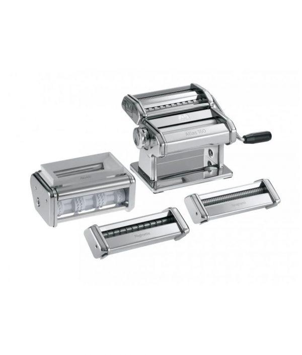Atlas 'Multipasta' Giftbox Pasta Machine-Set Pizza and Pasta Tools