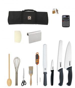 Breadmaking Kit – Club Chef Premium + Free Plating Spoon Hunter Institute - Pastry Bread Cake
