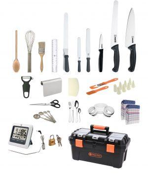 25 Piece Patisserie Chef Starter Kit – by Club Chef Apprentice