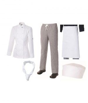 Ladies Student Uniform Kit by Club Chef Chef Uniforms