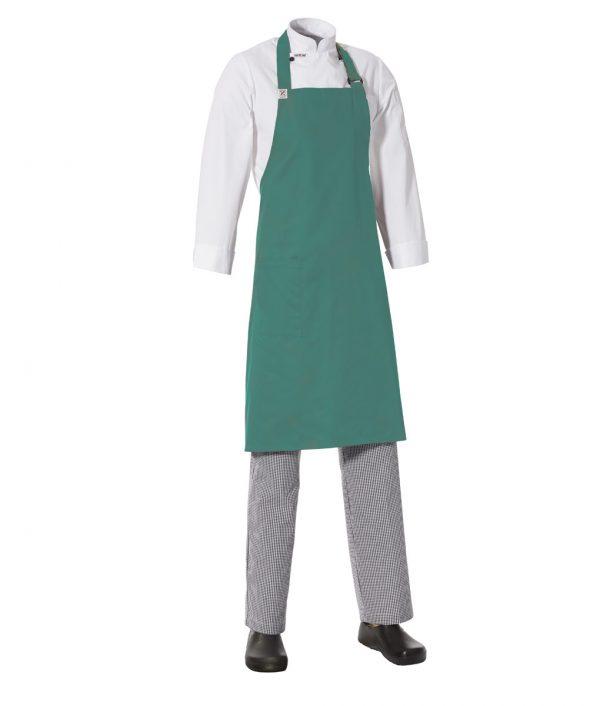 MasterChef Bib Apron with Side Pocket by Club Chef Side Pocket 4