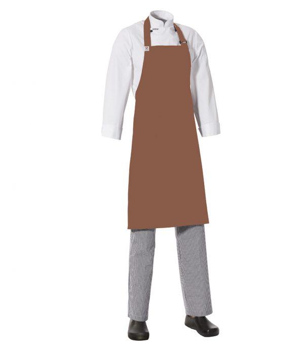 MasterChef Bib Apron with Side Pocket by Club Chef Side Pocket 5