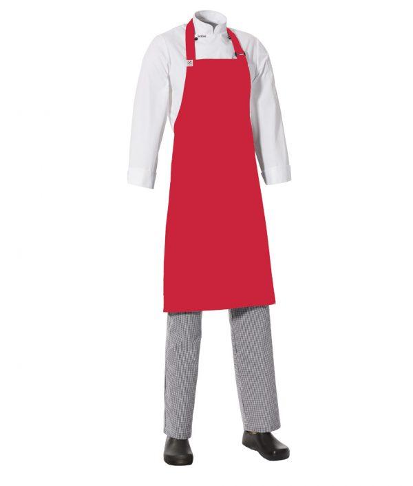 MasterChef Bib Apron with Side Pocket by Club Chef Side Pocket 8