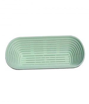 Bread Proofing Basket- 750gms- 26x14cm- Long- Plastic Bakeware