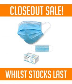 Disposable Face Mask – Non Surgical – Box 50 Masks