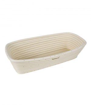 Bread Proofing Basket – 30x15x8cm – Rectangle – Rattan – BakeMaster Bakeware