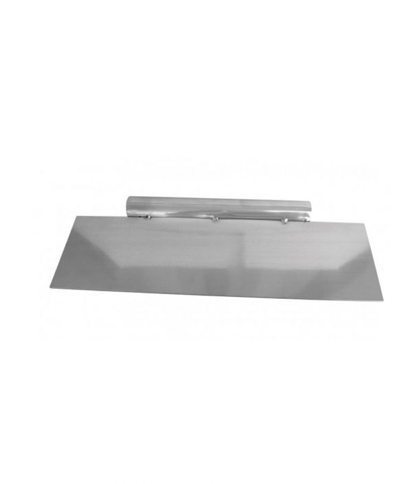 Long Edge Stainless Steel Scraper with Handle by Loyal Scrapers