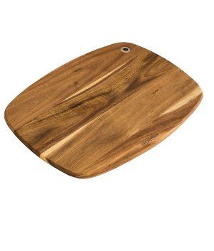 Cutting Board – Slim Line – Curved Acacia Wood by Peer Sorensen Cutting Boards